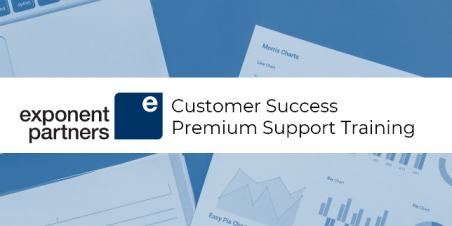 Image: Banner that reads Exponent Partners Customer Success Premium Support Training