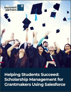 Cover Page of Scholarship Management White Paper