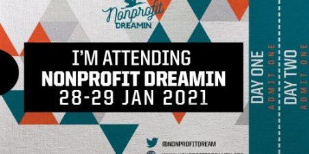 Nonprofit Dreamin ticket
