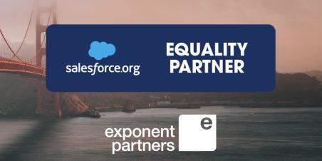 Image: Logo of Salesforce Equality badge