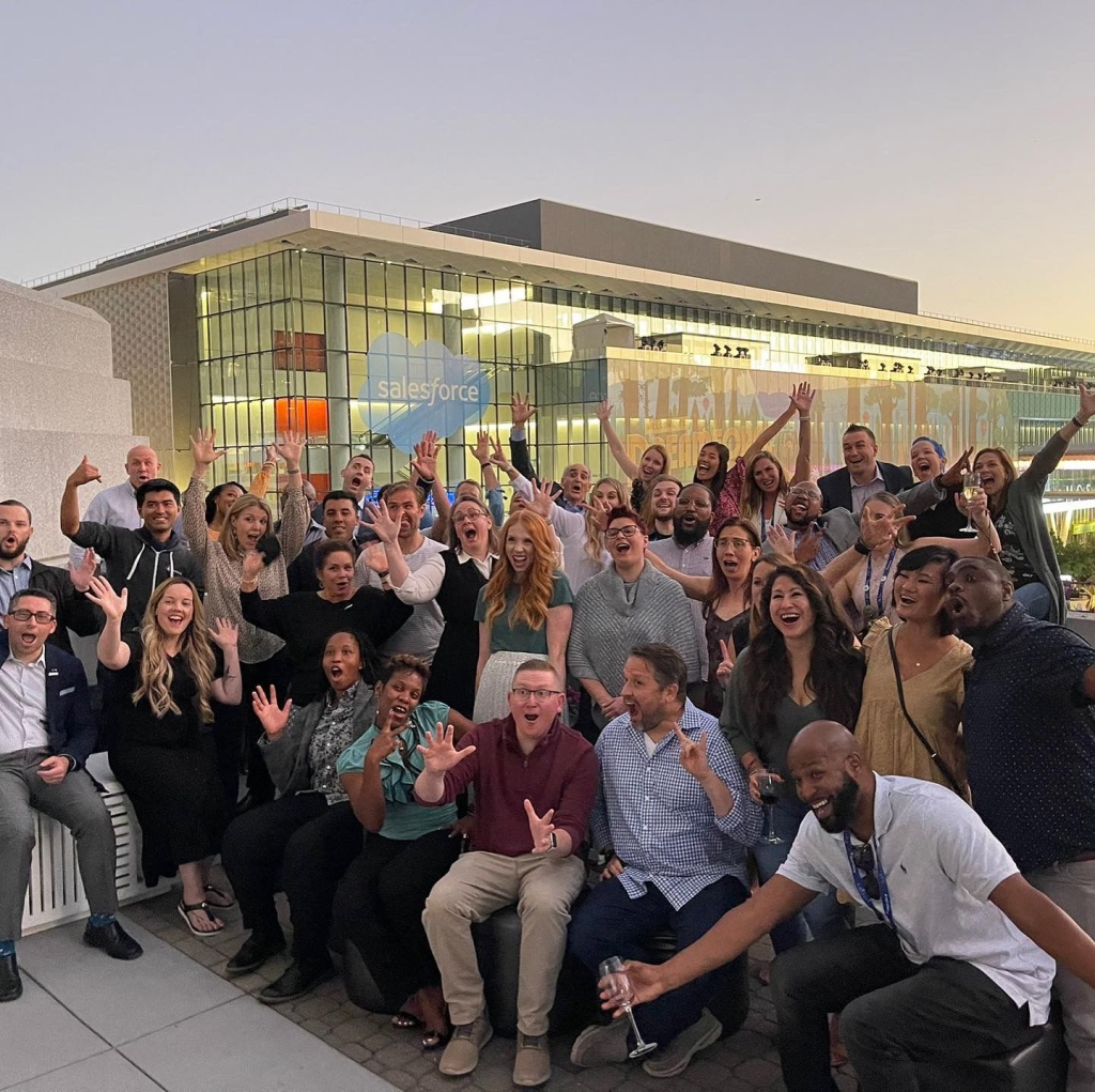 Photo of a large group of people at Dreamforce